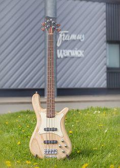 Warwick  Streamer CV 4 strings Natural Transparent Satin