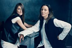Phoebe Philo for Vogue. love her