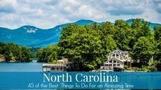 45 BEST Things to do in North Carolina for an Amazing Time - 365 Atlanta Traveler North Carolina Vacation Spots, Visit North Carolina, North Carolina Mountains, South Carolina, North Carolina Beaches, Durham, Pinehurst North Carolina, Family Vacation Destinations, Vacation Ideas