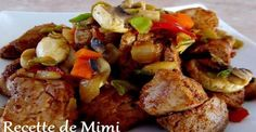 Marinated pork tenderloin cubes, a bag of onion soup and a little maple syrup! - Recipes - My Fork Baguette, Pork Recipes, Cooking Recipes, Syrup Recipes, Marinated Pork Tenderloins, Pork Ham, Delicious Magazine, Beef Casserole, Batch Cooking