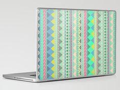 PASTEL AZTEC Laptop & iPad Skin by Vasare Nar - $30.00