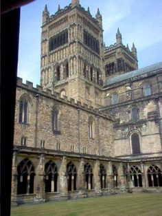 Channeling my inner Harry Potter - Durham, England. This is the location for the flying broom scene.