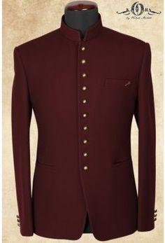 Buy Maroon Velvet Jodhpuri Suits Online - Jodhpuri suits for men - Indian Groom Dress, Wedding Dresses Men Indian, Wedding Dress Men, Wedding Suits, Indian Men Fashion, Mens Fashion Suits, Mens Suits, Men's Fashion, African Wear Styles For Men