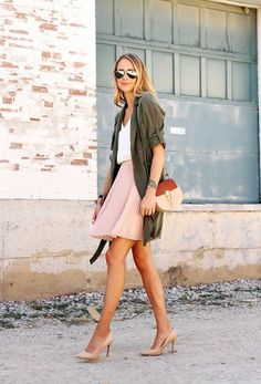 10 Cute Early Spring Summer Outfit Ideas - Designerz Central