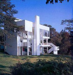 Smith House - Richard Meier - Connecticut