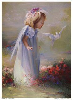 Baby Angel IV- Artist Joyce Birkenstock