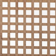 Spruce Square Wood Lattice (common: .685-in X 4-ft X 8-ft; Actual: 0.685-in X…
