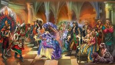 Oksana Ternavskaya Ruslan and Lyudmila Illustrators, Fairy Tales, Fair Grounds, Fantasy, Book Illustrations, Painting, Art, Art Background, Painting Art