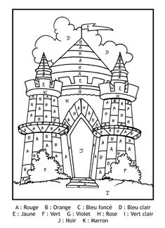 Looking for a Coloriage à Imprimer Chateau Disney. We have Coloriage à Imprimer Chateau Disney and the other about Coloriage Imprimer it free. Chateau Moyen Age, Learn Brazilian Portuguese, Coloring Book Pages, Kindergarten Activities, Design Reference, Middle Ages, Knight, Fairy Tales, Learning