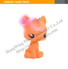 The Best Gift For Kids My Little Pony Toy Rubber Toy Horse
