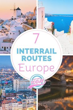 Discover Europe by train! These are some of the best interrail routes that will lead you through the coolest parts of Europe. 7 top itineraries in 7 top areas of Europe. Backpacking Europe, Europe Travel Guide, Europe Destinations, Travel Guides, Europe Train, Europe Europe, Glamping, Malta, Inter Rail