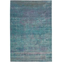 Safavieh Valencia Turquoise/Multi 4 ft. x 6 ft. Area Rug