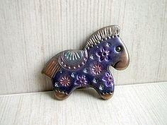 MK. Christmas horse from polymer clay - Новогодняя лошадка из полимерной глины. | Ярмарка Мастеров - ручная работа, handmade