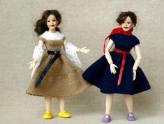 3 x 1:12 scale Heidi Ott top hats for 5.5-6 inch dollhouse male doll