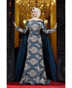 Blue Veil queen style #hijab #hijabers #hijabfashion #hijabeveningdresses #tsahijab #thesassyallurehijab #thesassyallure #asmaalkhair