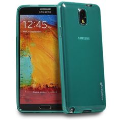Fosmon DURA-CANDY Glossy Series (Frost Matte Inside) Flexible SLIM-Fit TPU Case for Samsung Galaxy Note 3 / Note III - Teal Fosmon Technology http://www.amazon.com/dp/B00FPYR6MG/ref=cm_sw_r_pi_dp_4nv4tb0NBWNNG