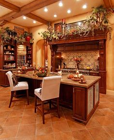 Tuscan Decor In The Kitchen