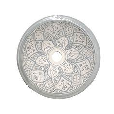 Marockanska keramikhandfat classic grå - sidsid.se
