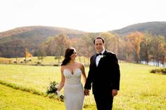 Real Wedding: Erin+Rob | Dress: Carol Hannah Les Astres | Images:  Anthony Decarlo