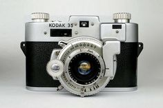 Kodak 35 Rangefinder Camera  Love this camera I have one of my own first vintage camera I got and started my collection about a year or two ago and now I have about 20 cameras I love it