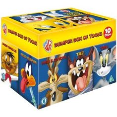 Buy Looney Tunes Box Set - Big Face Edition from Zavvi, the home of pop culture. Take advantage of great prices on Blu-ray, merchandise, games, clothing and more! Amazon Dvd, Looney Tunes Cartoons, Thats All Folks, Big Face, Daffy Duck, Kids Tv, Dvd Blu Ray, Inevitable, Favorite Tv Shows