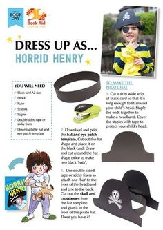 World Book Day what to wear - World Book Day – Horrid Harry - National Book Day, National Book Tokens, Book Costumes, World Book Day Costumes, Day Book, Book Week, Book Characters Dress Up, Great Costume Ideas, World Cancer Day