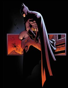 Badass Batman Illustrations