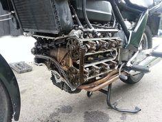 """1984 K100RS """"Atabike"""" build - Custom Fighters - Custom Streetfighter Motorcycle Forum"""