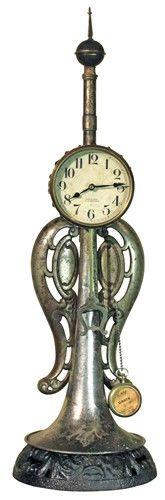 Custom Trombone Table Top Clock