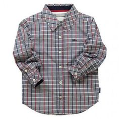 Boboli Poplin Shirt Check