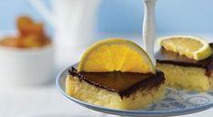 Χαλβάς πορτοκαλένιος με επικάλυψη σοκολάτας, από την Μυρσίνη Λαμπράκη και το mirsini.gr!