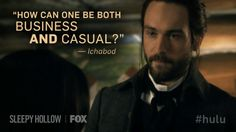 Ichabod, that is one of life's great questions.