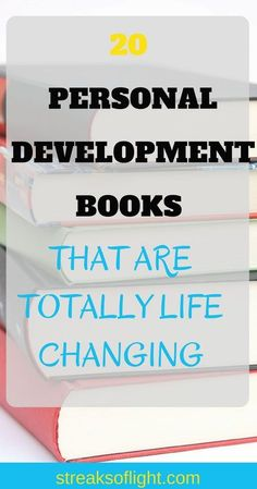 Are you trying to find your next read?These 20 best self development books are totally life-changing. They will help you achieve great success and personal freedom to be the best version of yourself.