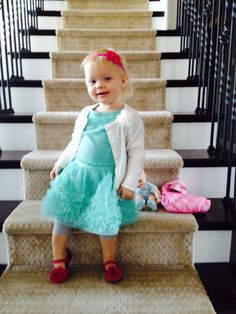 Toddler outfit tulle dress and cardigan