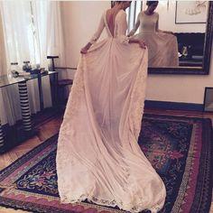 long sleeves wedding dress,boho wedding dress,rustic wedding dress,open back wedding dress,wedding dresses 2018,beach wedding dress