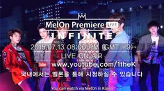 Watch INFINITE MelOn Premiere Showcase Live Now - Korean Site: Makeup and Kpop