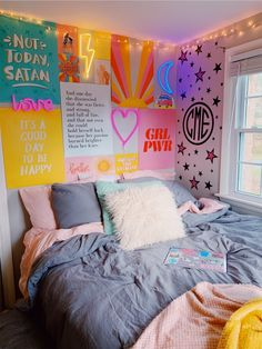 Elegant dorm room decorating ideas 10 is part of Room decor Elegant dorm room decorating ideas 10 - Cute Room Ideas, Cute Room Decor, Room Wall Decor, Cute Girls Bedrooms, Unique Teen Bedrooms, Girls Bedroom Colors, Bedroom Girls, Twin Girls, Cute Dorm Rooms