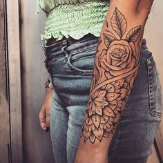 35 Inspiring Arm Tattoo Design Ideas for Women 2020 arm tattoo ideas for women, tattoo ideas for girls, sleeve arm tattoos Tribal Tattoos For Men, Full Sleeve Tattoos, Sleeve Tattoos For Women, Women Sleeve, Back Of Arm Tattoo, Flower Tattoo Arm, Piercing Tattoo, Piercings, Cute Tattoos