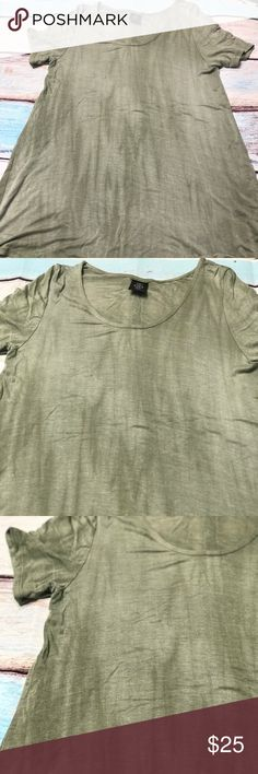 A&D Everyday Tee NWOT Agnes & Dora Everyday Tee- Large, Sage  •• Tags removed & washed, never worn••  Was just too big for my sisters liking & I have this color. Tops Tees - Short Sleeve