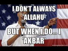 Obama Says Allahu Akbar To America