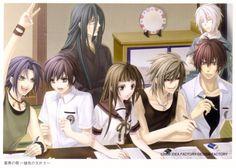 Yone Kazuki, Idea Factory, Studio Deen, Hiiro no Kakera, Ryou Kutani