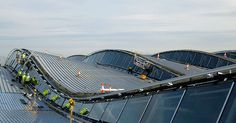 Heathrow Airport   Roof form