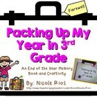 End of the Year - Packing Up My Year in Third Grade Memory