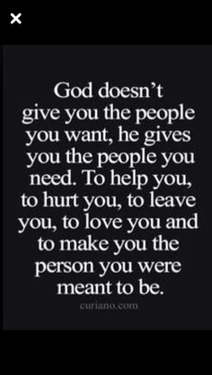 It took me a long time to realize this. Every thing is a part of his divine plan