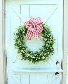 Boxwood Wreath Farmh