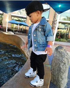 Be inspired by some of these little fashionistas looks.NET kids outfits North West Outfits That You'll Never Forget Baby Outfits, Outfits Niños, Little Boy Outfits, Toddler Boy Outfits, Little Boy Swag, Children Outfits, Toddler Boys Clothes, Toddler Girls, Baby Boy Jordan Outfits