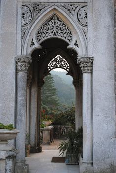 Monserrate palace ,Sintra, Portugal