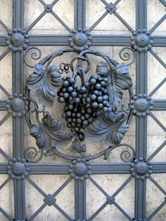Wrought iron gate detail. #Belvedere #Quarante #Herault #Languedoc