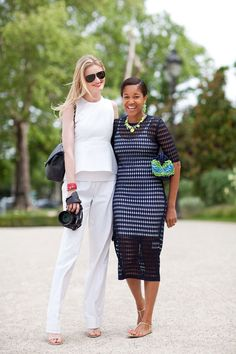 Couture 2012 Street Style - Couture 2012 Street Style Photographs - Harper's BAZAAR