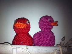 rose & rode eend